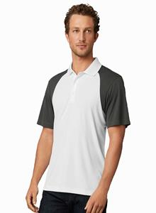 Prim + Preux Adult 4.4 ounce Energy Color Block Polo